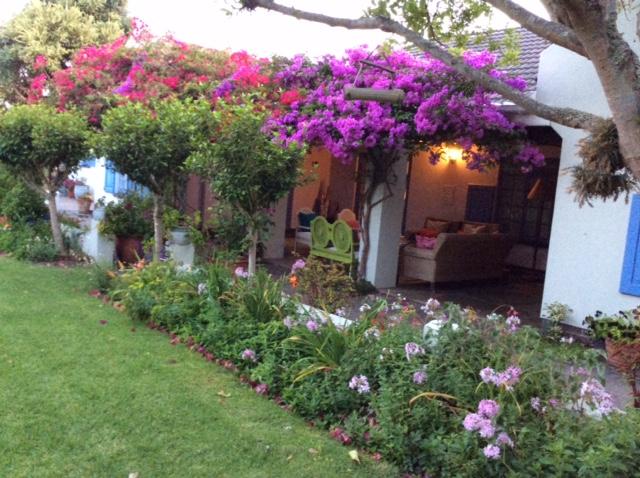 The patio at Cornerway House