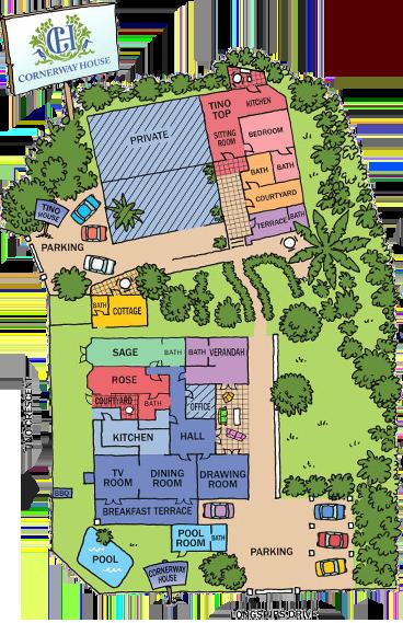 Corneryway House Property Layout